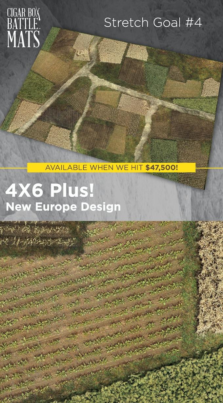 NEW EUROPE stretch goal when we reach $47,500