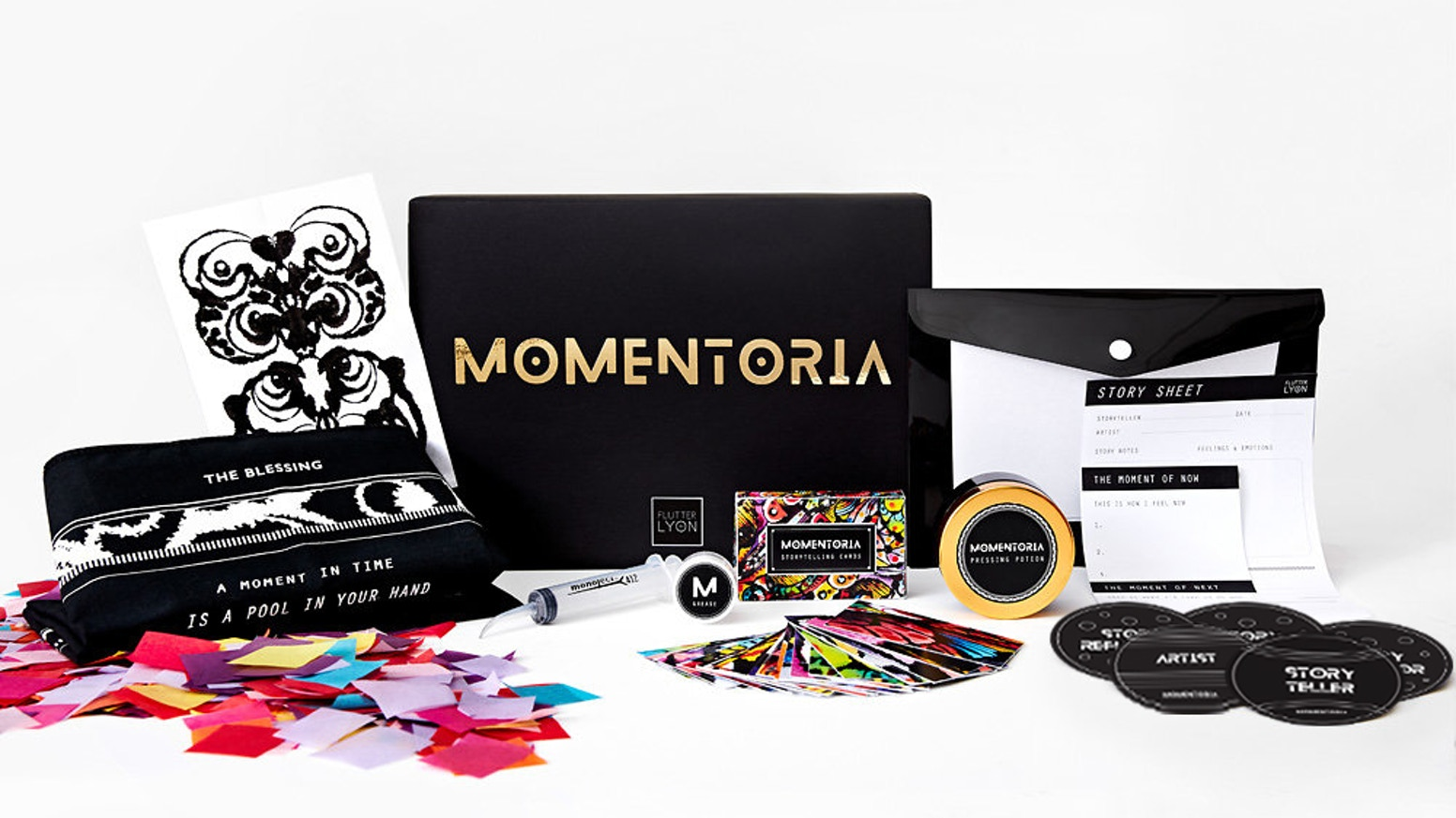 Momentoria : Stories of the People We Know by Flutter Lyon