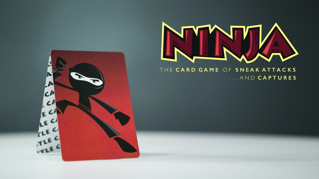Ninja : The card game of sneak attacks and captures project video thumbnail