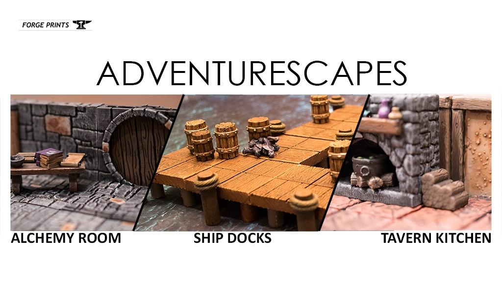 Adventurescapes project video thumbnail