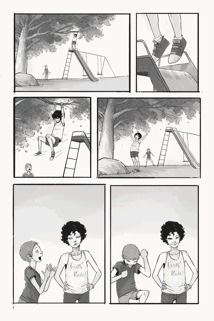 A page from Natasha Alterici & Erica Schultz's story