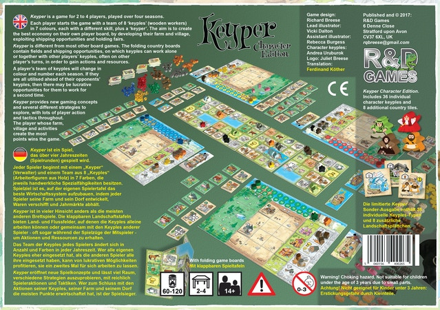 Character Edition By R & D Games » Files Are With