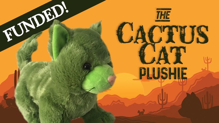 Your Cactus Cat plush will provide hours of snuggly & prickly entertainment as they guard your catsap & yowl their way into your heart.