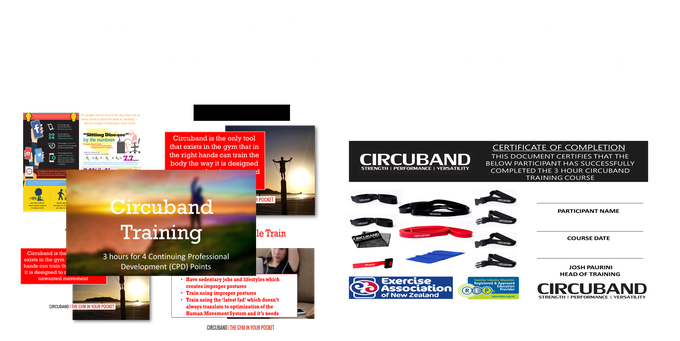 We Run a 3 Hour Registered Circuband Training Course