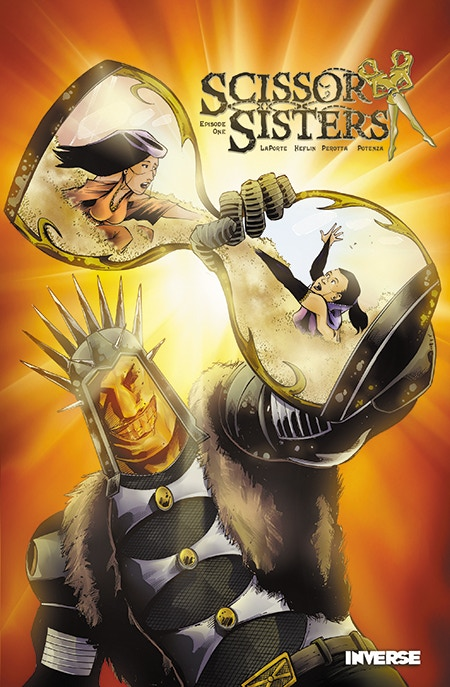 The Original Scissor Sisters Graphic Novel - Available in a Bundle with Swan Song at the $25 Reward Tier!