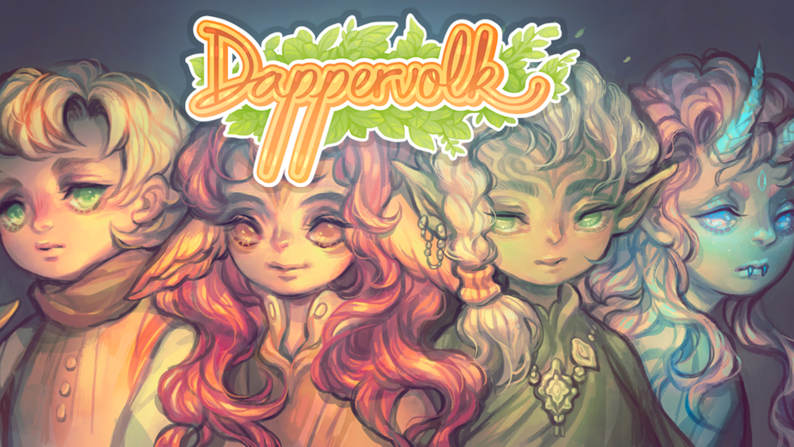 Dappervolk Is A Virtual Pet And Avatar Site With Cute Painterly Art RPG Elements