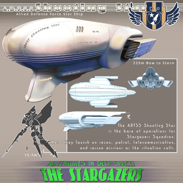 The Stargazers Visual Novel: A Yuri Mecha Space Opera By