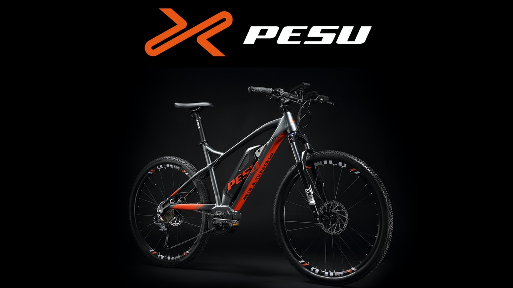 PESU - the world's fastest electric mountain bikes project video thumbnail