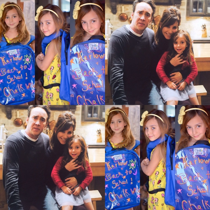 """Harlow Bottarini, a talented actress who played Nicolas Cage's daughter in the new movie """"Inconceivable"""" loves our erasable backpack"""