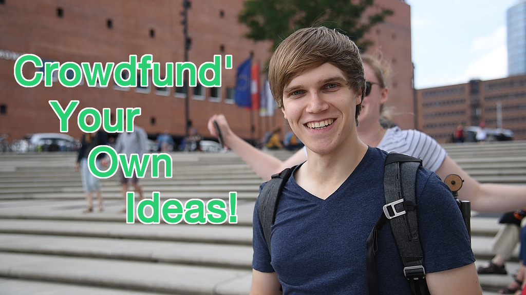 Crowdception! - YOUR crowdfunding future & my thesis! project video thumbnail