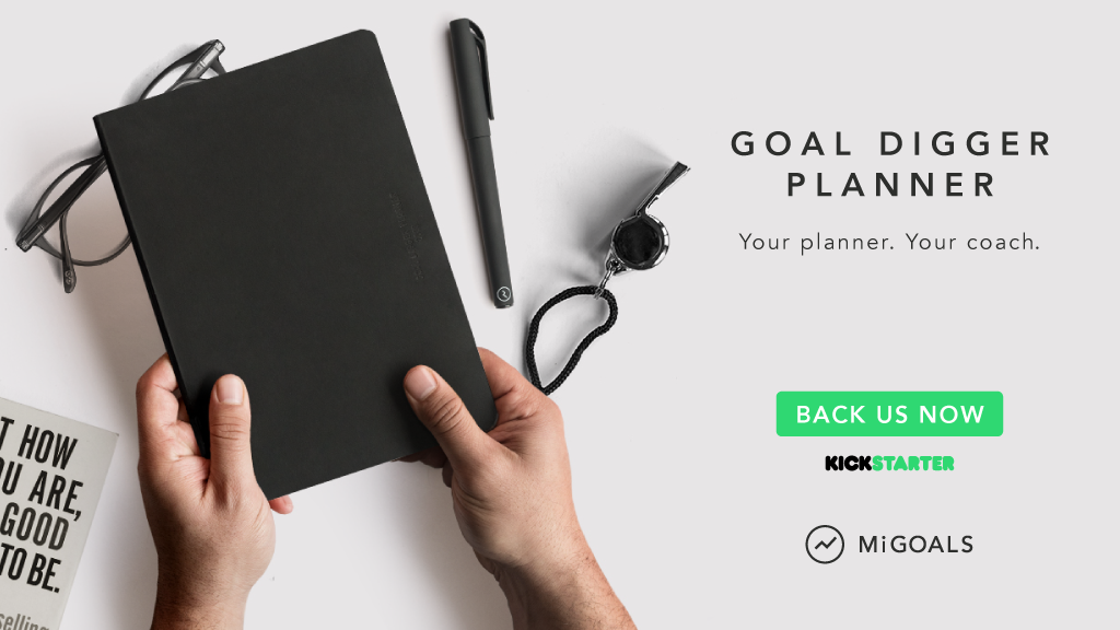 2018 Goal Digger Planner. project video thumbnail