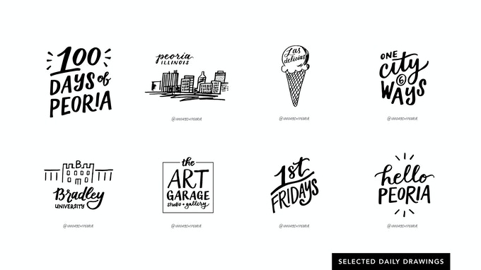 100 Days of Peoria: The Book by Chelsie Tamms — Kickstarter