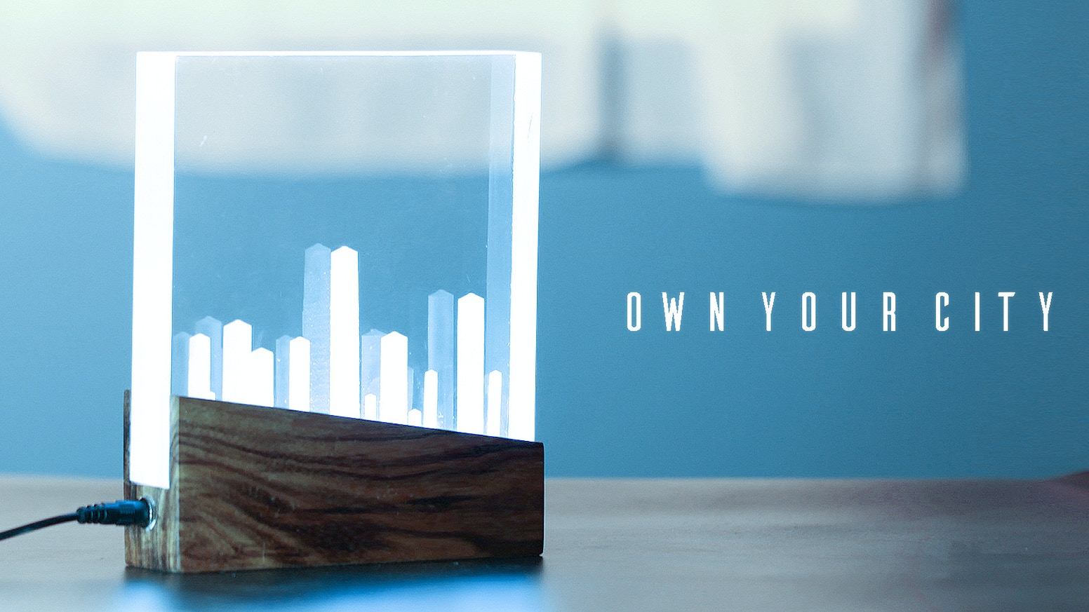 City Lights Lamp Own Your N Let It Shine Great Gift