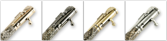 Available in 24kt gold, gun metal, antique brass, antique pewter