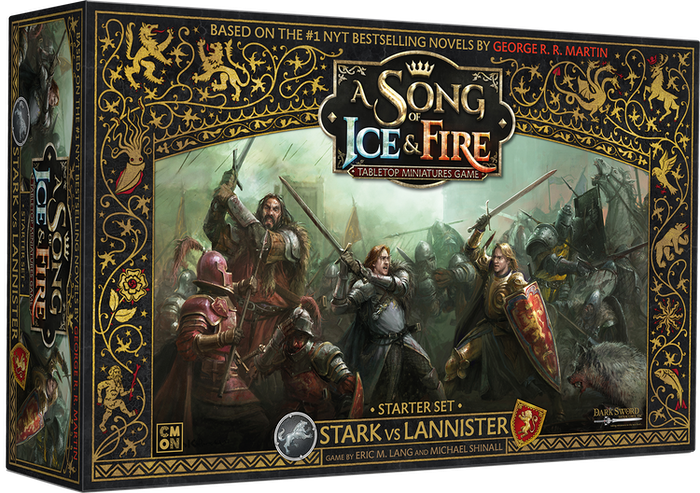 Lead the Starks or Lannisters into battle using amazing preassembled miniatures based on the characters of the best-selling novels!
