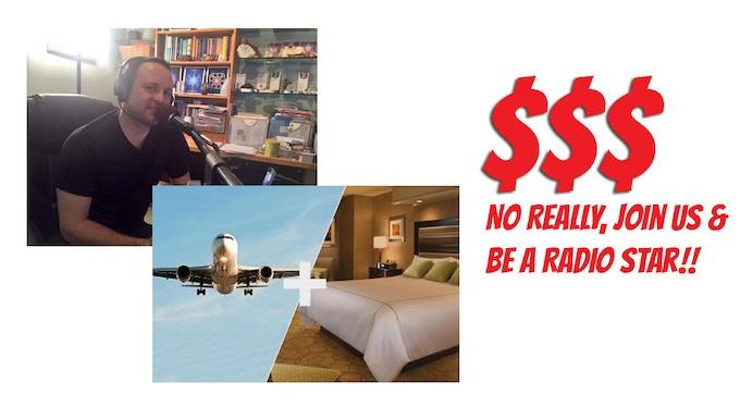 Airfare, Travel, Hotel, Dinner, Co-Host, Drinks