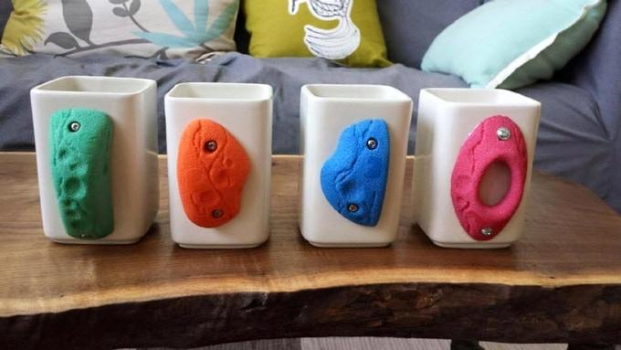 Crimp Mugs From Climber's Gift Pack