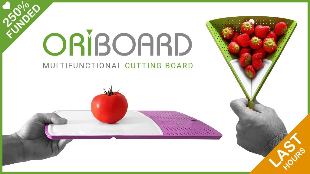 Oriboard : The amazing origami multifunctional cutting board project video thumbnail