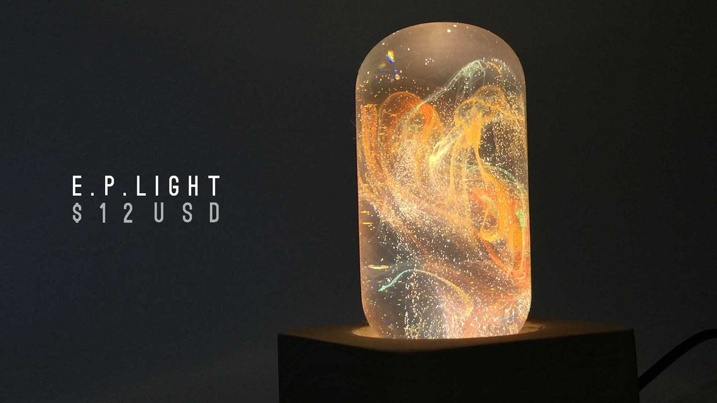 E.P. Light: When inventor meet artist project video thumbnail