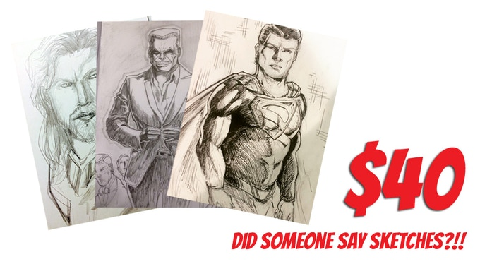 The Sire #10 Sketch Package