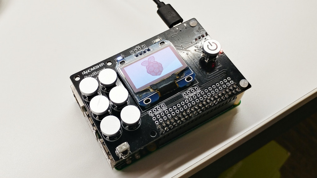 ProdBoard - All-in-one Utility Add-on Board for Raspberry Pi project video thumbnail