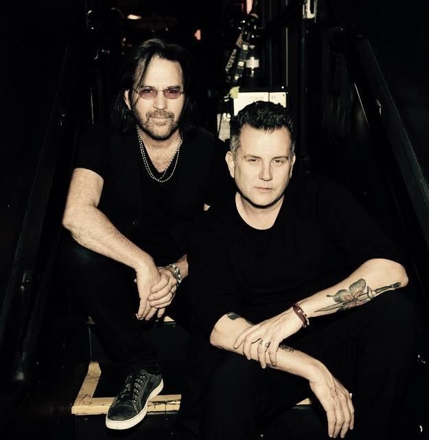 Kip Winger and Damien Gray