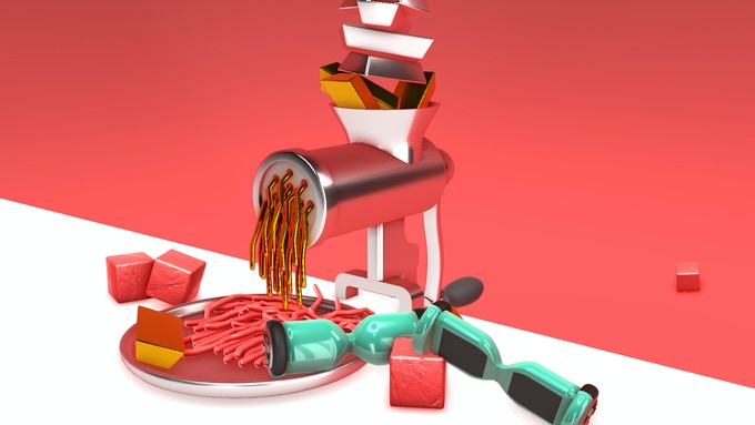Nour is the only game on the market that will find you questioning the ethics of putting a hoverboard in a meat grinder.