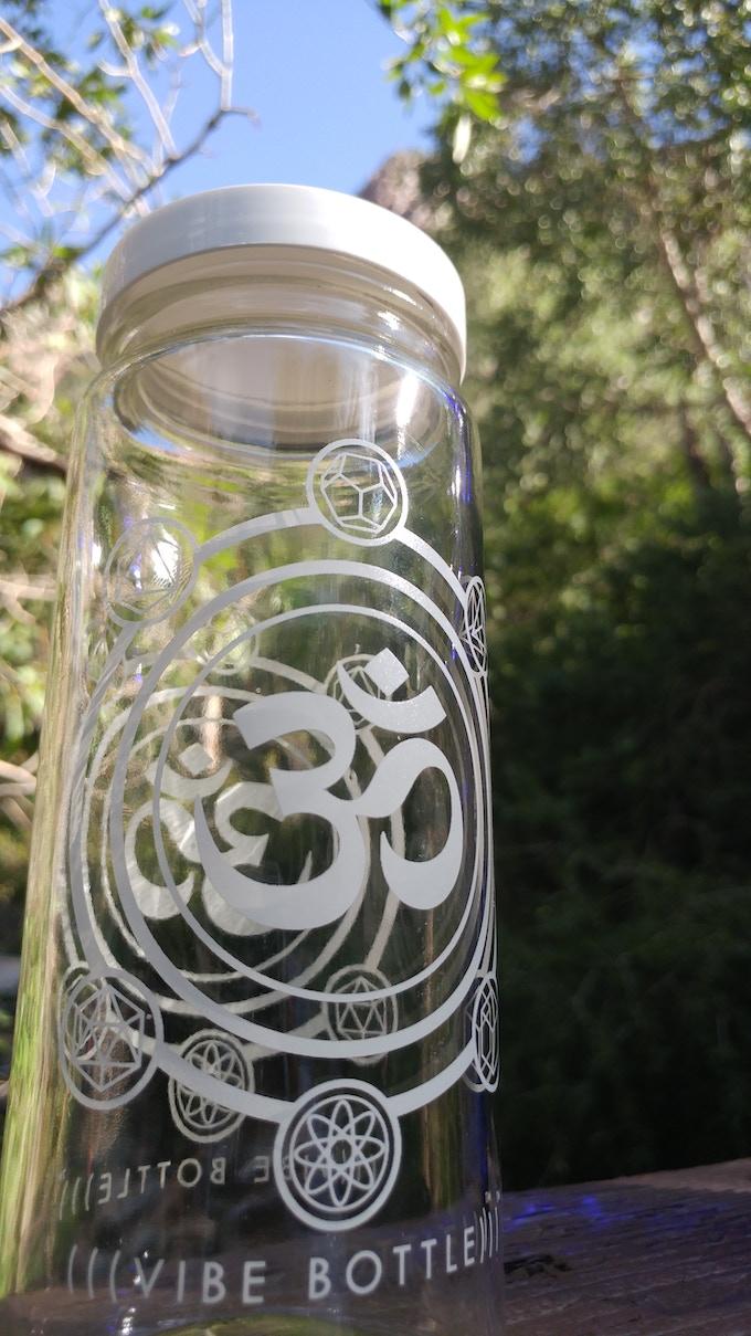Vibe bottle kickstarter ver 2 0 by brinlie and zo for Bookmark creator jar