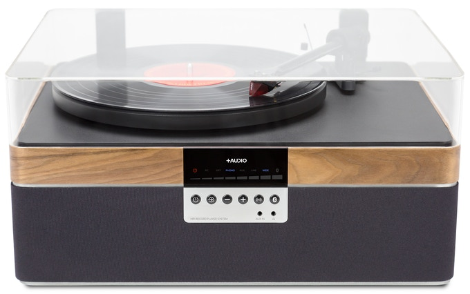 THE+RECORD PLAYER (Walnut Veneer)