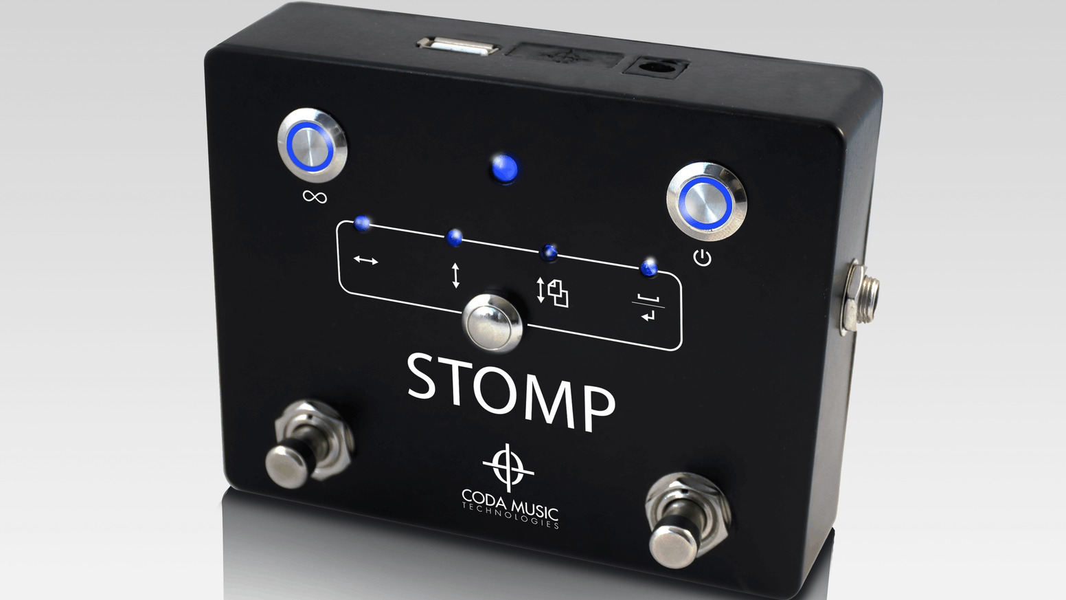 STOMP: Bluetooth Music Pedal for Hands-Free Page Turning by