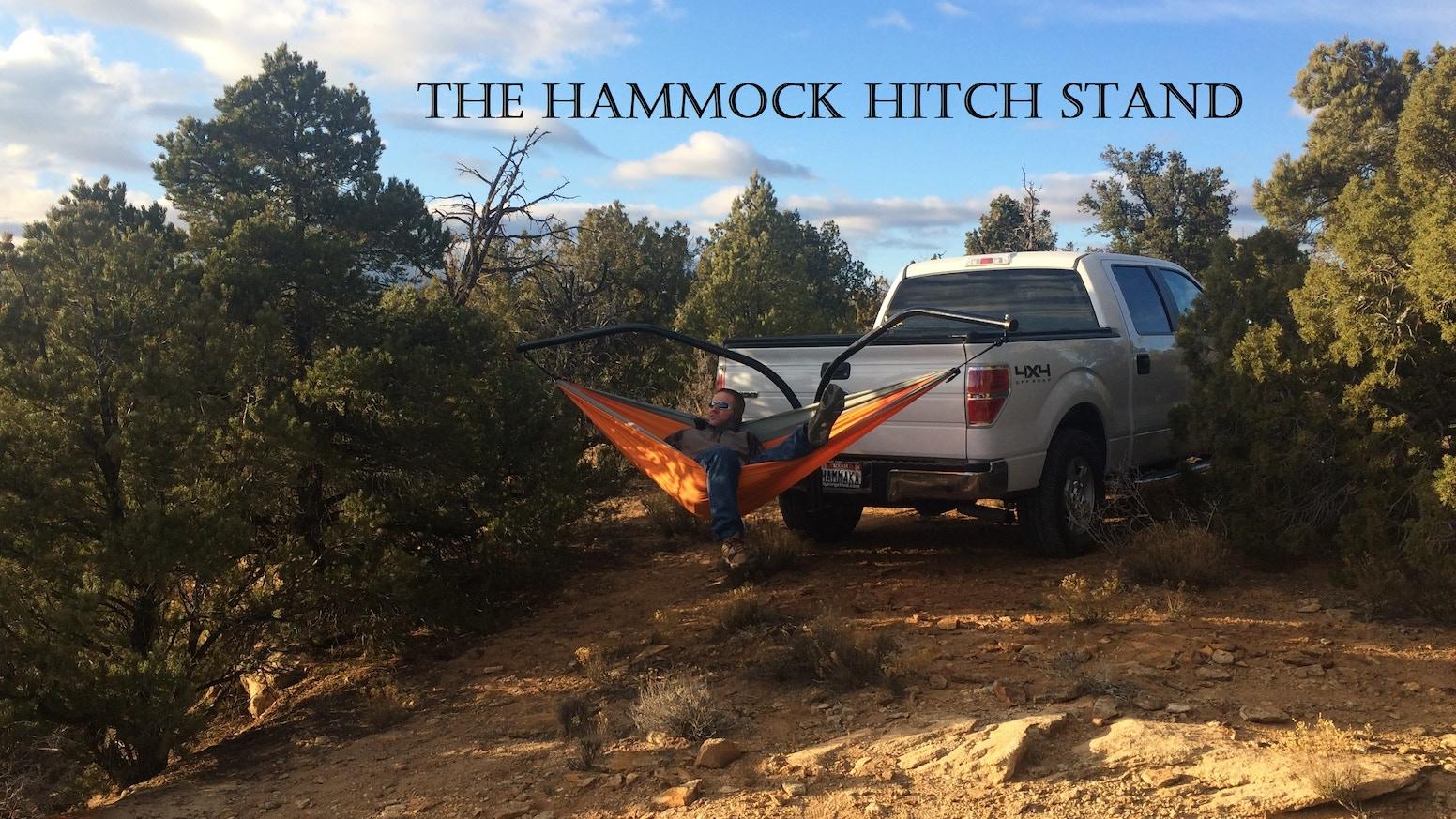 The Hammock Hitch Stand By King S Pond Hammaka Kickstarter