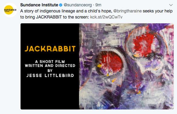 JACKRABBIT a short film by Jesse Littlebird by Jesse Littlebird