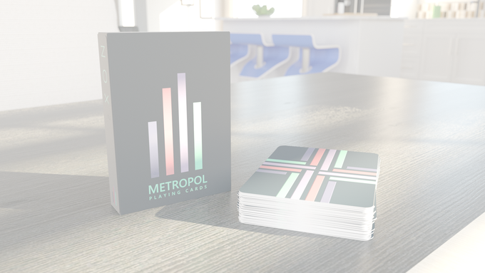 Metropol NOX 2017 edition with reflective UV ink on tuck case and card backs