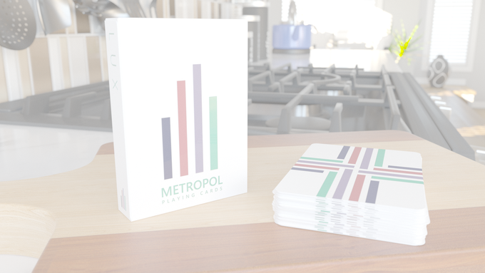 Metropol LUX 2017 edition with reflective UV ink on tuck case and card backs