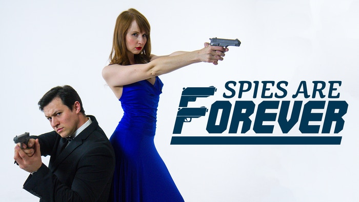 A new spy-themed comedy musical from the Tin Can Brothers and TalkFine performed in Los Angeles Spring 2016, and now on YouTube.