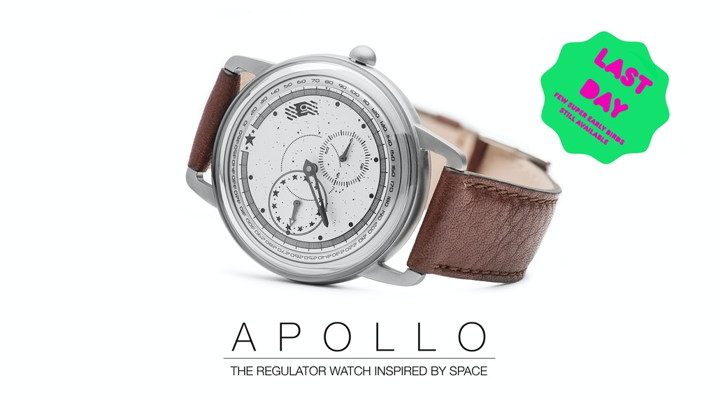 Apollo Watches - The regulator watch inspired by Space project video thumbnail