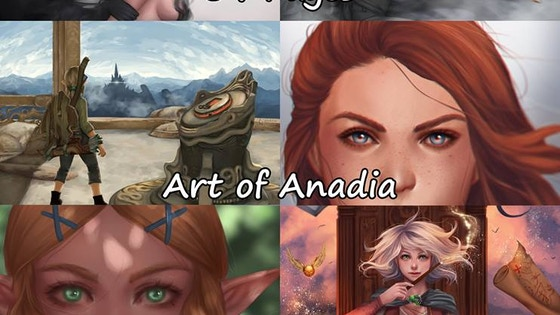 Anadia's Art Book
