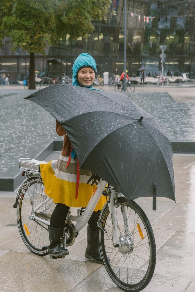 The Bike Umbrella
