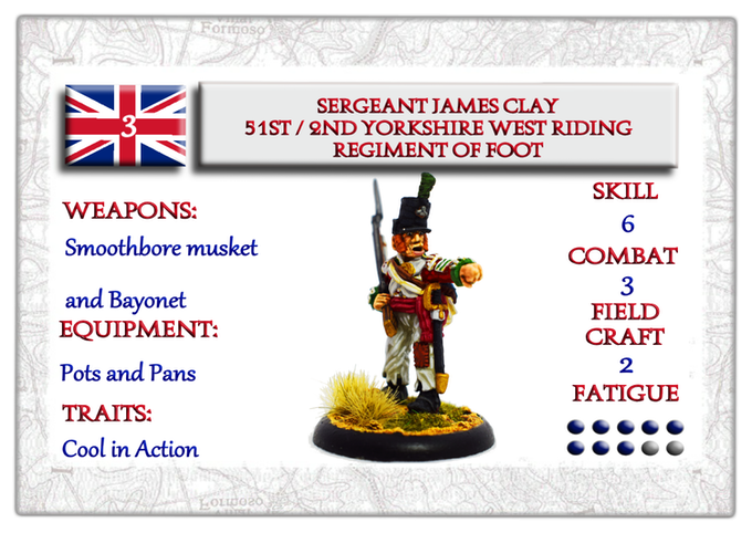 Character Card British NCO