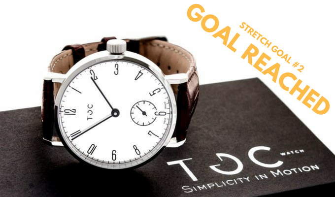 Stretch Goal #2 - €55,000 - The option of a White Dial