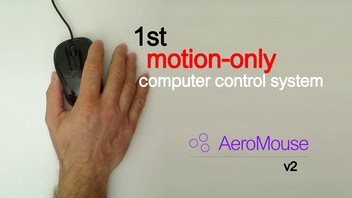 AeroMouse v2 - 1st motion-only computer control system