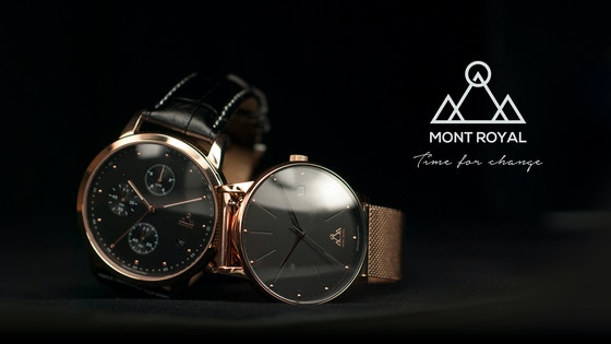 CLASSIC AND CHRONOGRAPH WATCHES by the Mont Royal Watch Co.