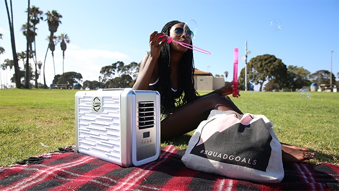 Affordable In Outdoor Solarpowered Portable Air