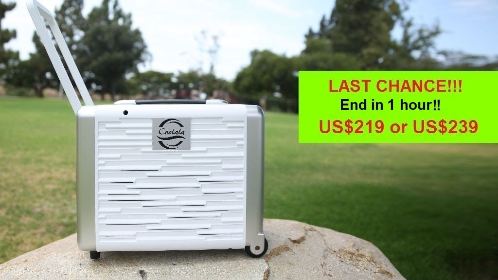 Affordable In/Outdoor SolarPowered Portable Air Conditioner project video thumbnail
