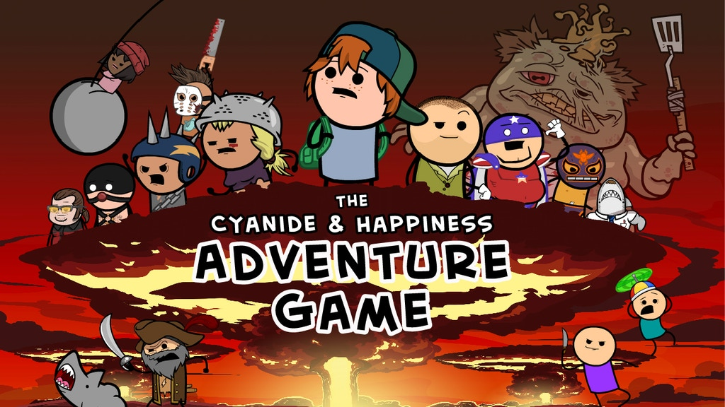 The Cyanide & Happiness Adventure Game project video thumbnail