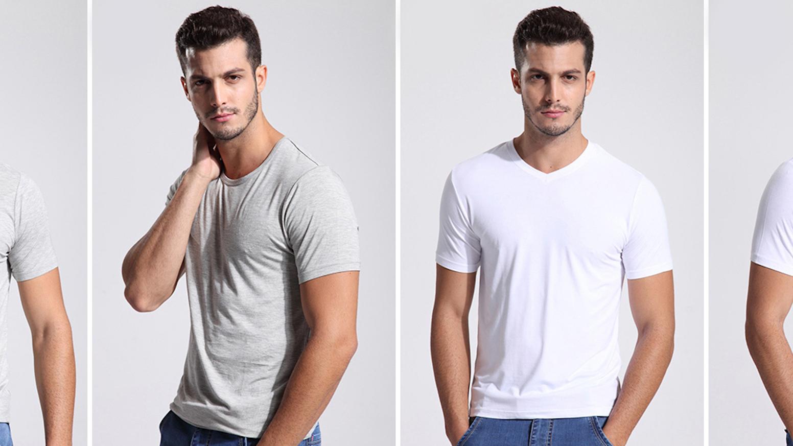 Bamboo viscose undershirts; classic, premium quality without the luxury markup