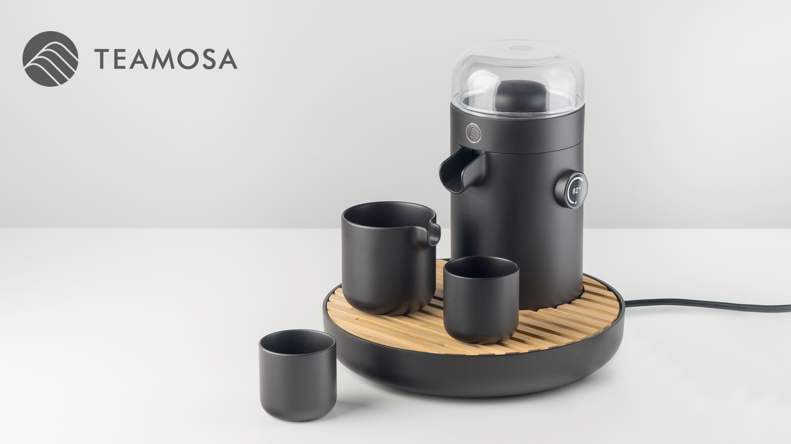 An automated tea brewing machine that uses ultrasonic extraction to retain up to 20% more antioxidants than traditionally brewed tea