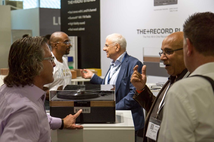 Unveiling THE+RECORD PLAYER at High End Munich 2017
