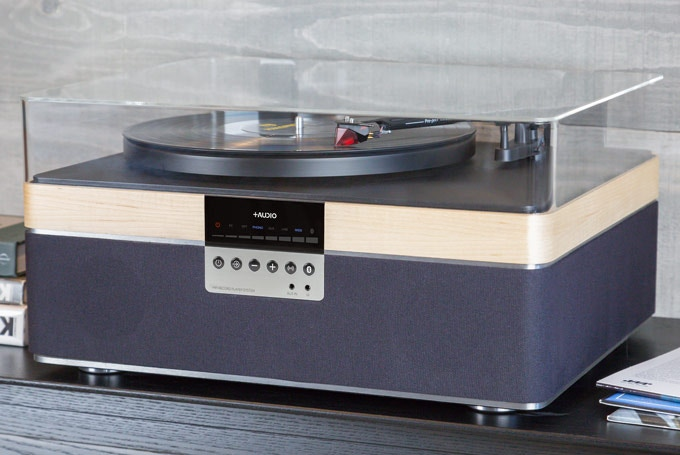 THE+RECORD PLAYER (Maple Veneer)