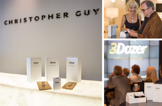 Product launch for the designer community at Christopher Guy showroom - Beverly Hills